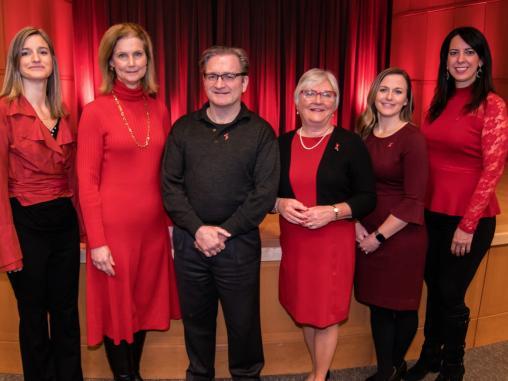 Healthy Hearts for Women Symposium leadership team
